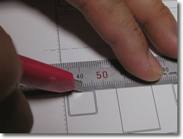 窓抜き刃物の使い方2